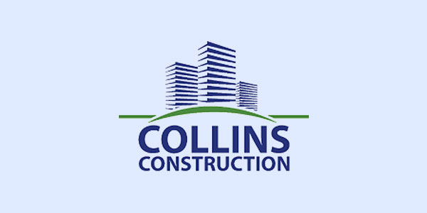 Thiết kế logo xây dựng - công ty Collins-Constructions